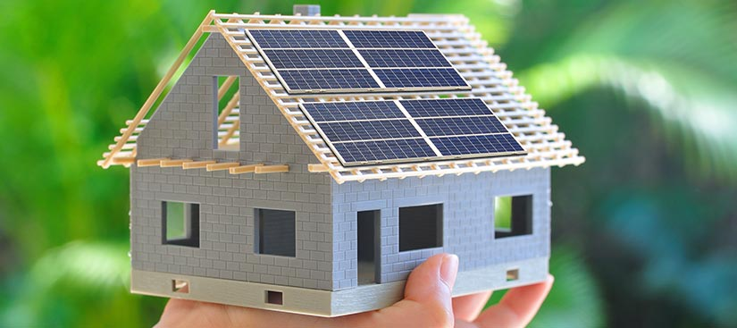 panneaux photovoltaiques à Sainte-Rose